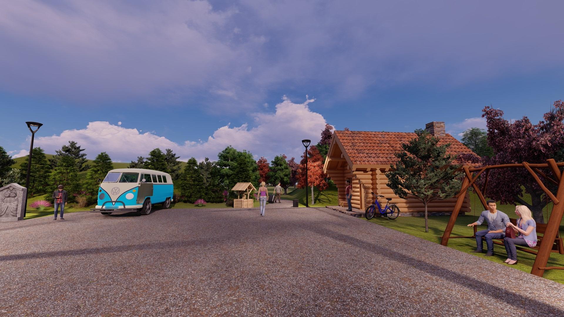 Artfulparks Carpark & Main Reception